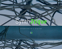 Synth3tique website concept