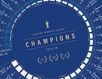 LCFC Seasons Series Infographic Prints