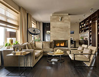 Apartment in St Petersburg by Maxim Rymar