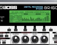 Boss BR1600 Ad