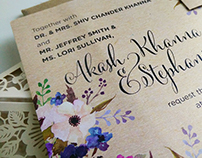 Wedding Invites and Stationary