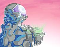Digital Practice - Cosmonaut 1