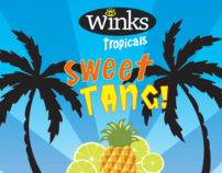 Winks Tropicals Sweet Tang!