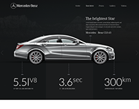 Mercedes-Benz Site Redesign