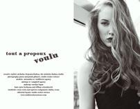Tout a Propoux Voulu' Editorial