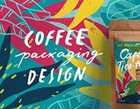 Café Tico-tico - Coffee Packaging Design