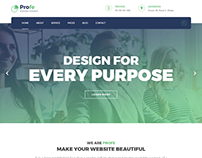 Profe - Multipurpose HTML Template