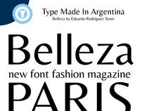 BELLEZA - Free Google Web Font