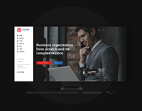 LionFin - Consulting Template / UI - PSD