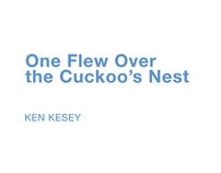 Penguin book cover // One Flew Over the Cuckoo's Nest