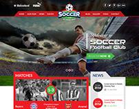Soccer Club Design created by nexstair