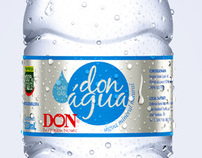 3d water bottle - Don bebidas