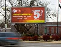 BFit- $5 Fitness Billboard