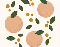 Peaches Illustration