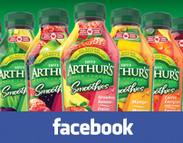 Arthurs Smoothies Facebook
