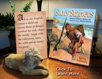 Story Starters, digital magazine ad