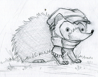 Hedgehog Hang Tags