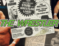 The Wrestler, title sequence