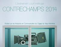 Affiche Contrechamps 2014