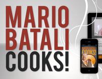 Mario Batali App commercial