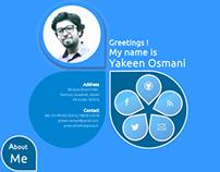 My Designer Visual Resume' Template for Web Designers