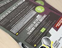 Flyers - Clases Padel y Tenis Madrid