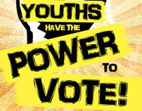 """""""Youths Have The Power To Vote"""" Poster"""