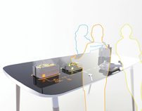 Office Lunchbox + Table system