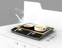 'Cookaware' Plug-in Cooktop