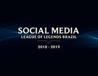 Social Media - League of Legends Brazil