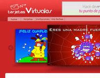 Site Tarjetas Virtuales