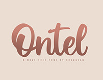 Ontel Script - Free for commercial use