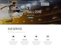 WS Soccer Sport Clubs WordPress Theme