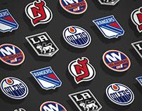 NHL: Teams Logos (Concept)