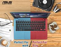 ASUS E Series & TP Flip Series Advertising