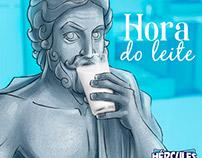 Leite Hércules - Processo Criativo