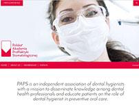 Diseño web Asociación de Higienistas de Polonia PAPS