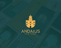 Andalus logo & Identity