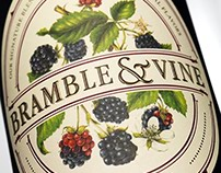 Bramble & Vine (Constellation) Wine Label & Packaging