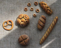 bread. miniature.