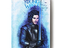 Game Of Thrones Notebook Cover Design (Young Wolf)