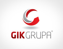 Gik Group Visual identity