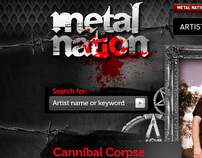 Metal Nation Web site / community