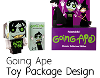 Going Ape - Toy Package Design
