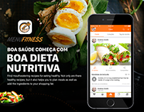MenuFitness App - Plan your meals with healthy recipes