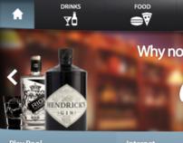 iPad Pub Ordering UI
