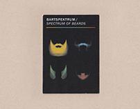 Bartspektrum / Spectrum of beards