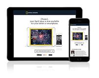 National Geographic Magazine Engagement Email