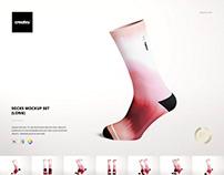 Socks Mockup Set (long)