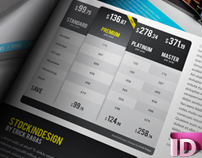 20 InDesign Modern Pricing Tables | FREEBIE